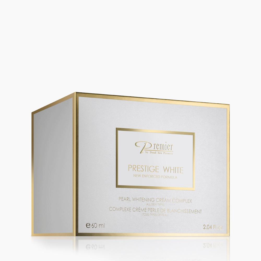 PRESTIGE WHITE Pearl Whitening Cream Complex - All Skin Types 1
