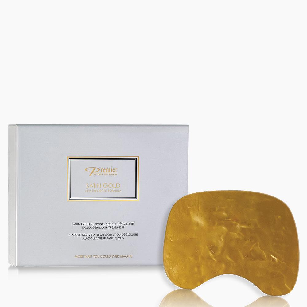 Satin Gold Reviving Neck & Décolleté Collagen Mask Treatment
